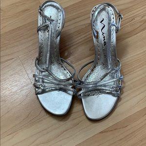 Nina Silver high Heels